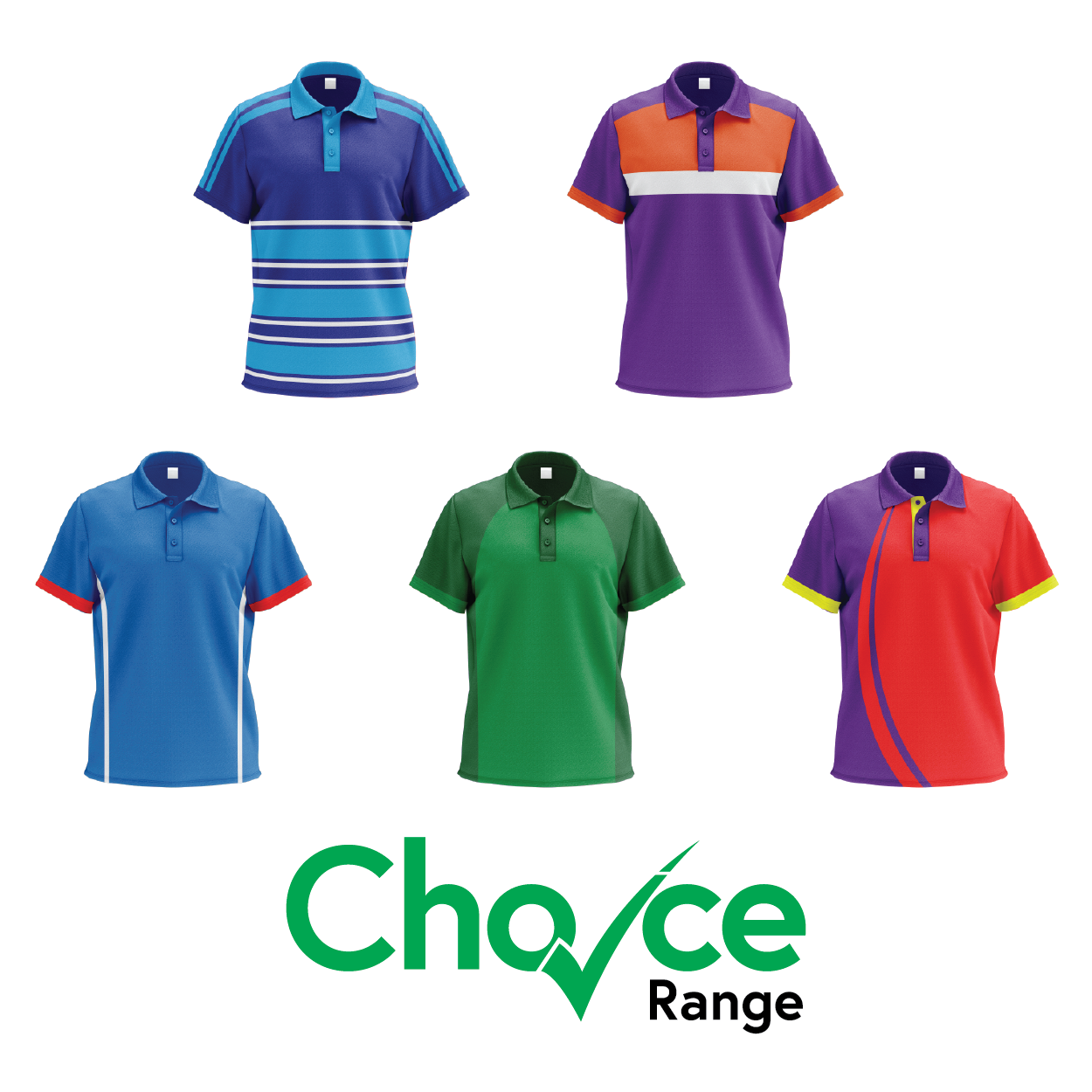 Choice Range Polo Shirts