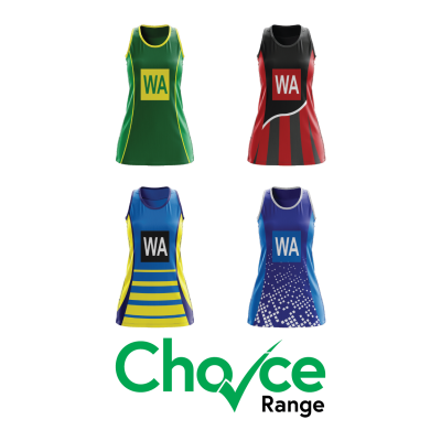 Choice Range Netball Dresses
