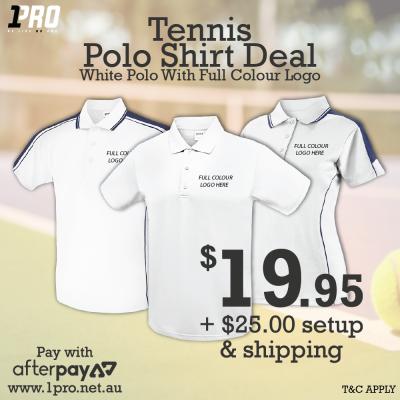 Tennis Polo Shirt Deal