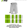 Size Chart - Basketball Shorts