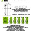 Size Chart - Equestrian Puffer Vest