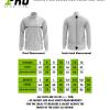 Size Chart - Jacket, Track Jacket , Rain Jacket