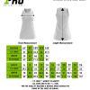 Size Chart - Netball Dress
