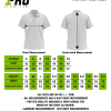 Size Chart - Polo Shirt