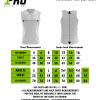 Size Chart - Reversible Vest